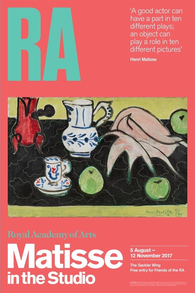 The Royal Academy of Arts Presents Matisse in the Studio